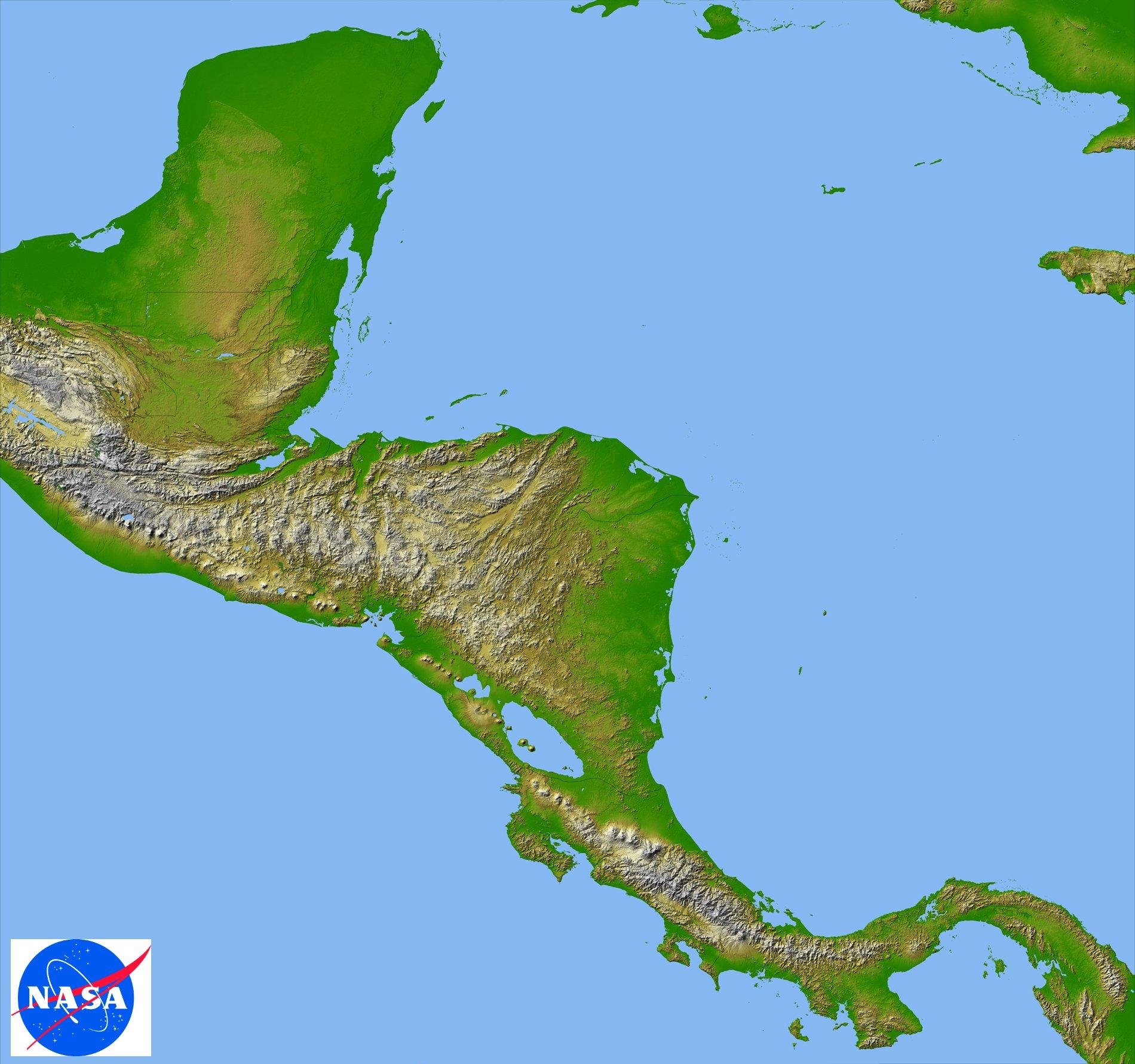 Biodiversity in Belize Topography